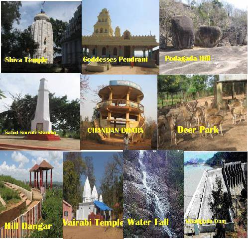 Article Tourist Places And Temples In Nabarangpur