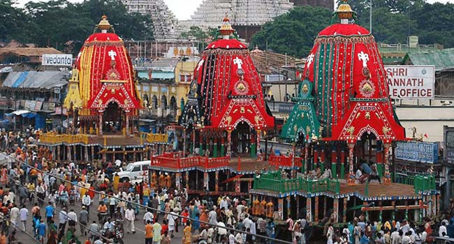 Ratha Jatra - Car Festival Of Puri Lord Shree Jagannth, Odisha