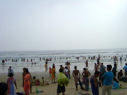 Sea Beach of Puri, Odisha