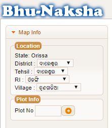 Odisha Orissa Land Maps Jami Bhu Naksha Online Portal