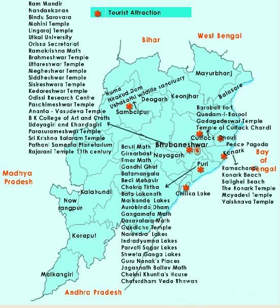 Odisha Road Map Pdf