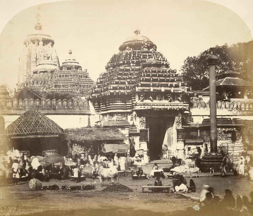 Rare Old Photos Of Ancient Puri Jagannath Temple Odisha