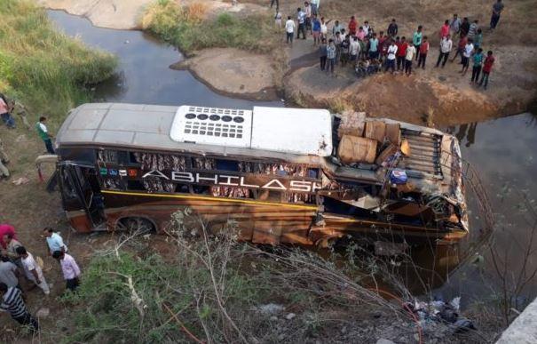 2 Killed Over 30 Injured as Bus Falls off Bridge in Odishas Kalahandi-2018