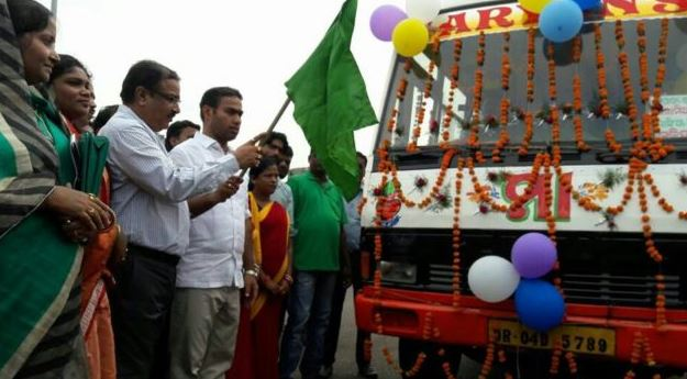 Bus Service Launched to Nagada in Odishas Jajpur-2017