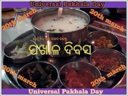 March 20 is declared as PAKHALA DIVAS(Universal Pakhala DAY)