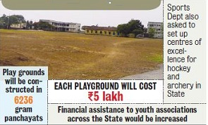 Odisha News - Mini Stadium in All Gram Panchayats by Odisha Govt Jan