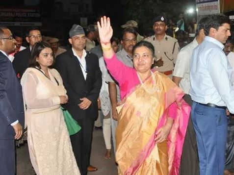 Nepal President Bidya Devi Bhandari Arrived in Odisha to Visit Konark Puri Today-2017