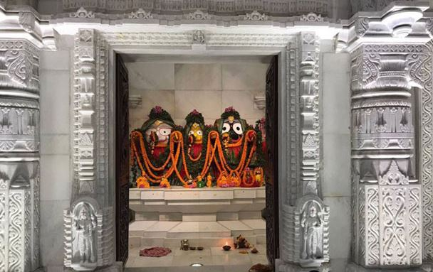 New Jagannath Temple at Jindal Plant Township in Angul, Odisha-2017