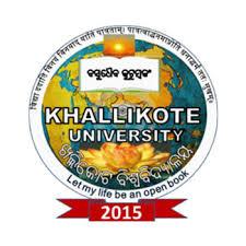 Post-Vacancy At Khalikote-University-Berhampur June-2019