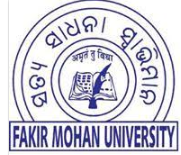 Job Openings in Fakir Mohan University, Odisha-Oct-2018