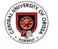 Job Openings in Central University of Orissa-Oct-2018