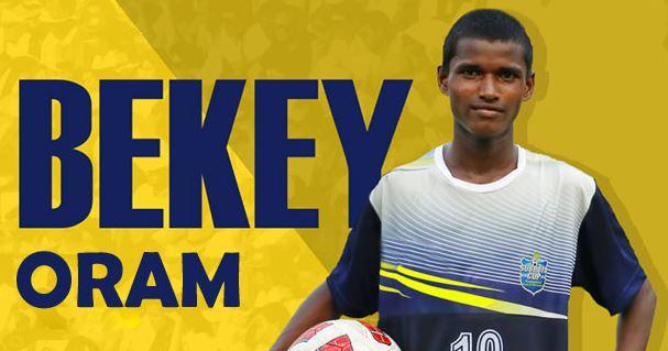 Odisha Boy Bekey Oram Selected for India U-16 Football Team-2017