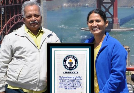 Odisha Couple Entered the Guinness World Records 2018