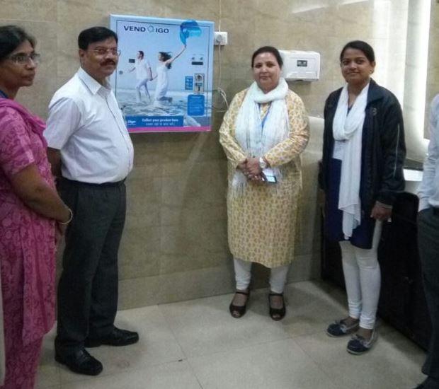 Padman effect Bhubaneswar Airport Installs Sanitary Pad Vending Machines-2018