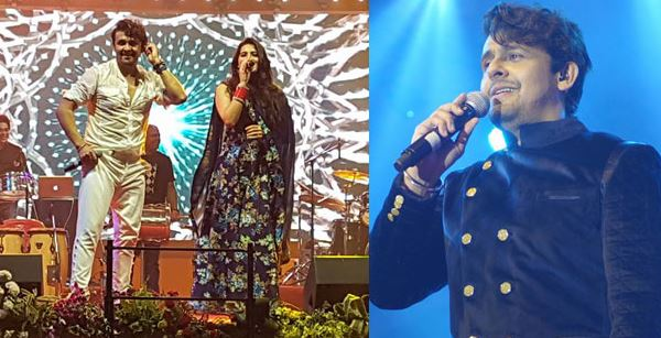 Sonu Nigam in Bhubaneswar for PM's Urja Ganga Inauguration-2017