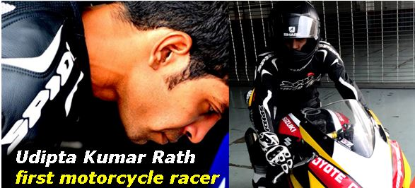 Udipta Kumar Rath First Motorcycle Racer from Odisha-2017