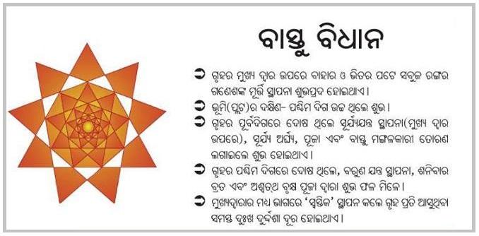 Odia Oriya Vastu Shastra Tips For Home Nua Odisha